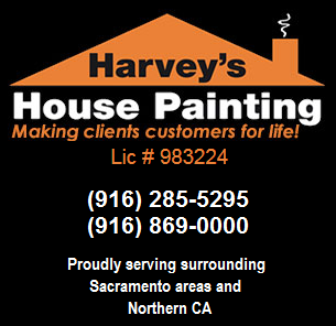 harveys house painting, painting contractor, residential painting, commercial painting, residential painter, commercial painter, interior painting, exterior painting, residential painting, commercial painting, residential painter, commercial painter, power washing, stain and seal, staining, wood repairs, wood replacements, cabinet refinishing, cabinet refinish, residential, commercial, interior, exterior, painter, painting company, painting services, local painter, house painter, home painter, office painter, business painter, commercial painting services, Sacramento County, Citrus Heights, Elk Grove, Folsom, Galt, Isleton, Rancho Cordova, Sacramento, Placer County, Auburn, Colfax, Lincoln, Loomis, Rocklin, Roseville, El Dorado County, Placerville, Cameron Park, El Dorado Hills, Pollock Pines, Rescue, Shingle Springs, Yolo County, Davis, Esparta, Knights Landing, West Sacramento, Winters, Woodland, Yolo, Solano County, Dixon, Fairfield, Vacaville, Vallejo